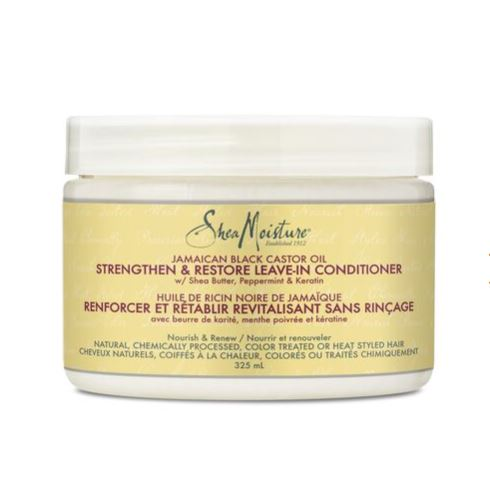 Shea Moisture Jamaican Black Castor Oil Strengthen & Restore Leave-In Conditioner 12oz Leave-in Conditioners Shea Moisture