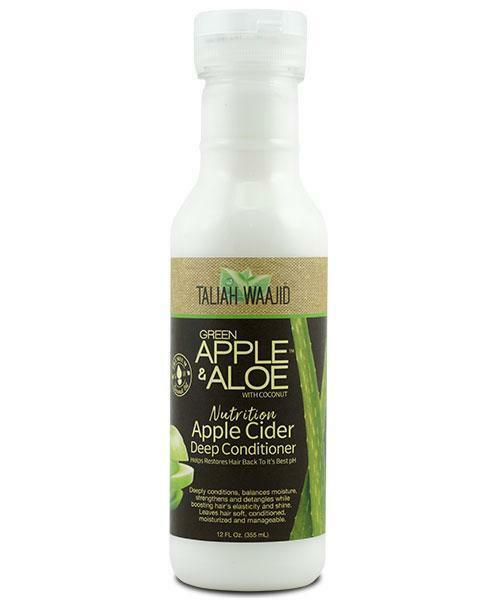 Taliah Waajid Green Apple & Aloe Apple Cider Deep Conditioner 12 oz Taliah Waajiid