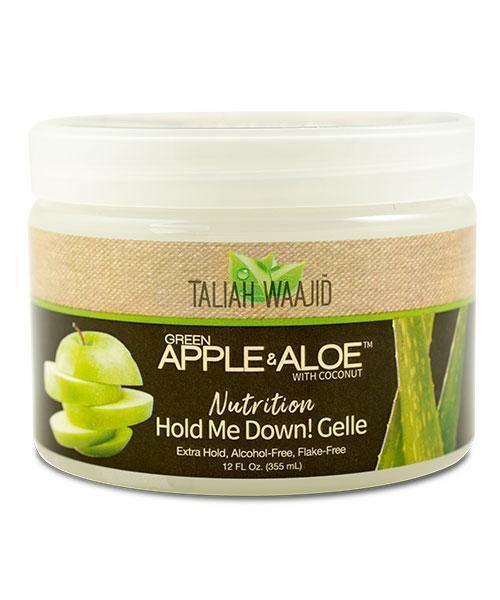Taliah Waajid Green Apple & Aloe Nutrition Hold Me Down! Gelle 12oz Curl Definers Taliah Waajiid