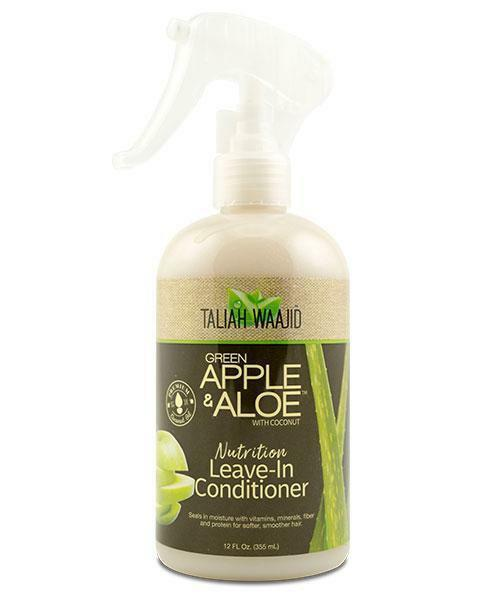 Taliah Waajid Green Apple & Aloe Nutrition Leave-In Conditioner 12oz Taliah Waajiid