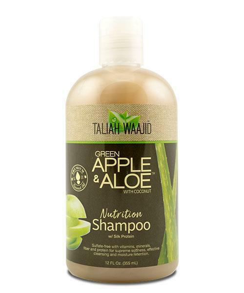 Taliah Waajid Green Apple And Aloe Nutrition Shampoo 12oz Shampoos Taliah Waajiid