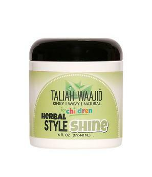 Taliah Waajid Herbal Style & Shine For Natural Hair 6oz Children's Products Taliah Waajiid
