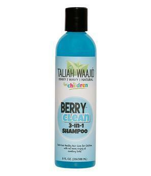 Taliah Waajid Kinky Wavy Natural for Children Berry Clean Three-In-One 8oz Children's Products Taliah Waajiid