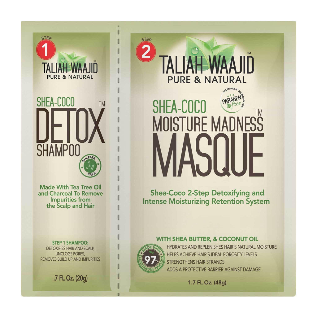 Taliah Waajid Shea-Coco 2-in-1 Detox Shampoo & Moisture Masque Beauty Club Outlet
