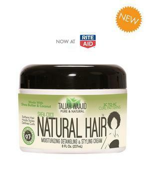 Taliah Waajid Shea-Coco Natural Hair Style Cream 8oz For 3C-4C Hair 8 oz Curl Definers Taliah Waajiid