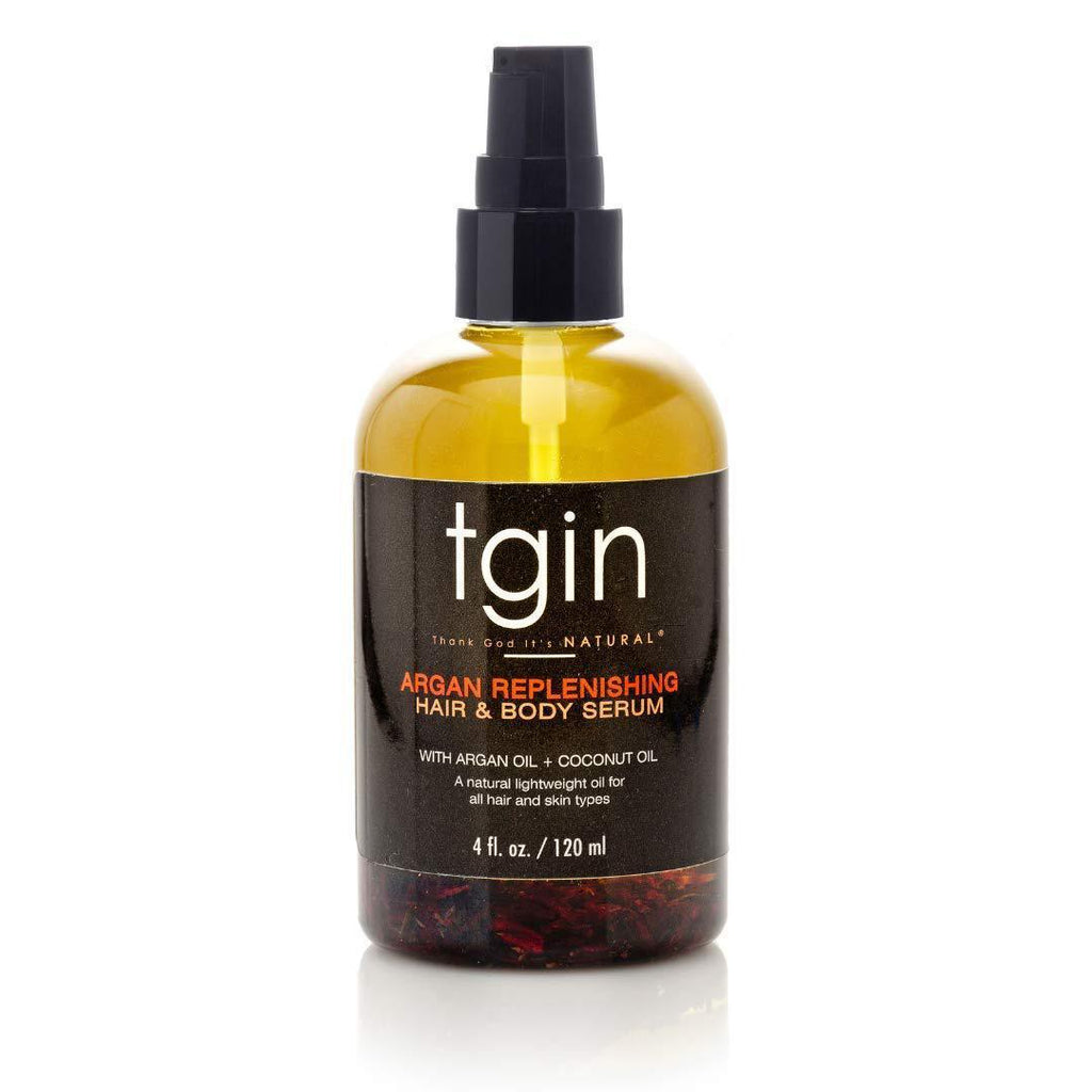 TGIN Argan Replenishing Hair & Body Serum - 4 Oz Oils TGIN