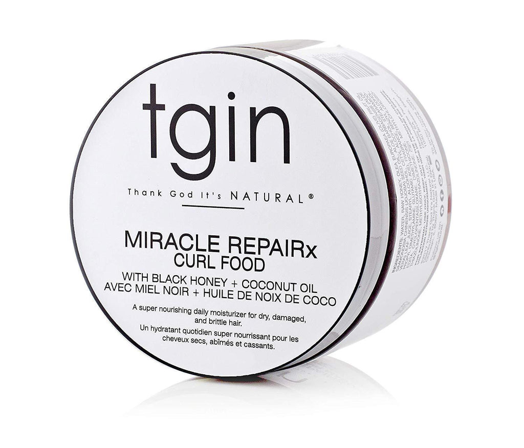 TGIN Miracle Repair X Curl Food Daily Moisturizer 12 oz Moisture Sealants TGIN
