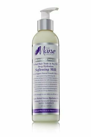 The Mane Choice Heavenly Halo Herbal Hair Tonic & Soy Milk Deep Hydration Softening Milk Leave-in Conditioners The Mane Choice