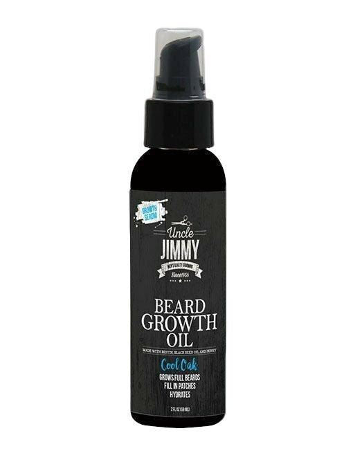 Uncle Jimmy Beard Growth Oil 2oz Men's Products Uncle Jimmy