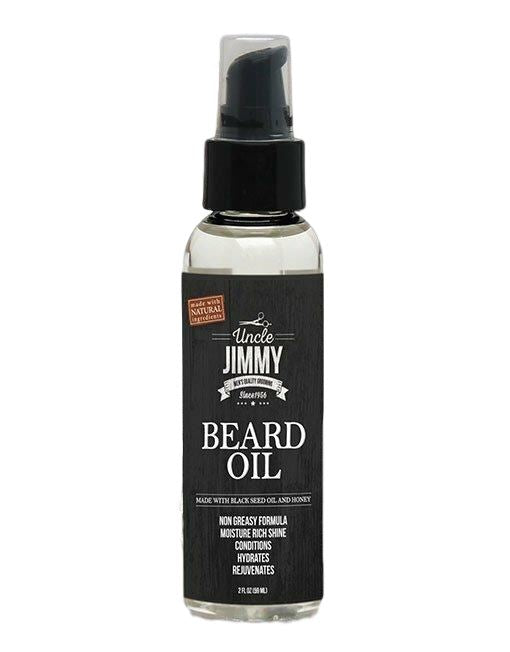 Uncle Jimmy Beard Oil 2oz Men's Products Uncle Jimmy