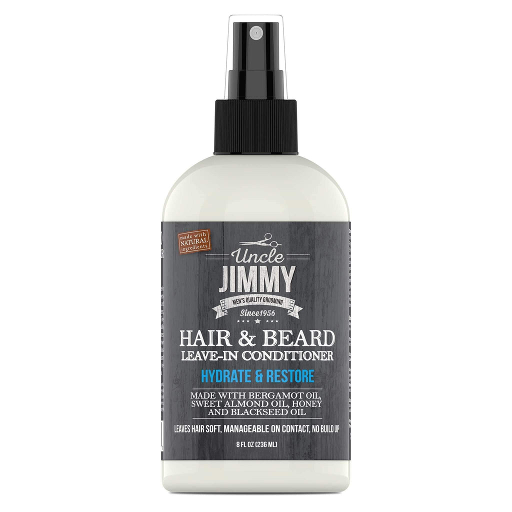Uncle Jimmy Hair and Beard Leave-in Conditioner Men's Products Uncle Jimmy