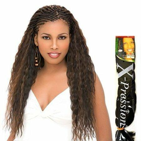 "Xpression Ultra Braid Single Packs 82"" Extensions X-Pression"