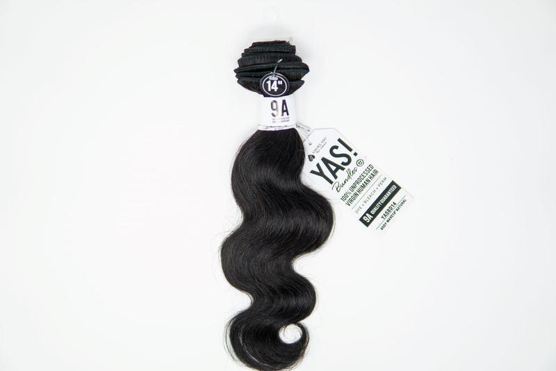 "YAS! 100% Remi Human Hair Bundles Single Pack Body Wave 16"" Beauty Club Outlet"