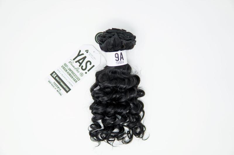 "YAS! 100% Remi Human Hair Bundles Single Pack Deep Wave 18"" Beauty Club Outlet"