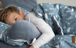 Large cuddly toy Whale Ocean Blue