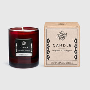 SOY CANDLE - BERGAMOT & EUCALYPTUS 'ART DECO - Wild Atlantic Living