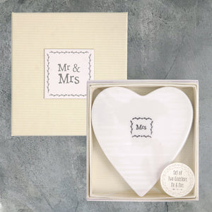 Boxed Coasters - Mr & Mrs