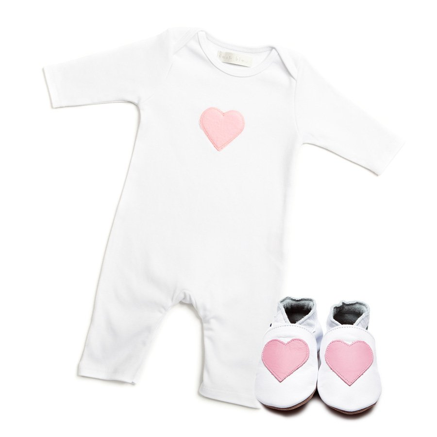 Love Babygrow & Shoes Giftset - Wild Atlantic Living