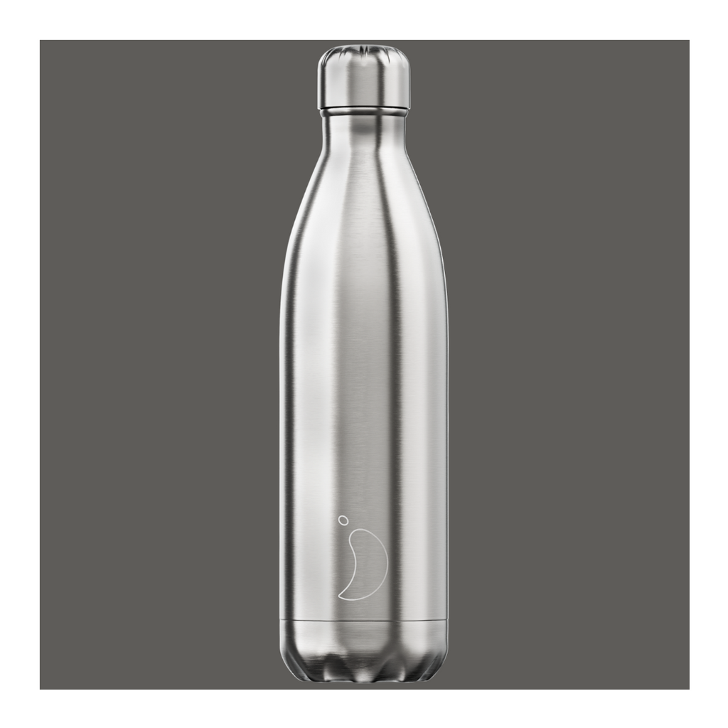 Chilly's 750ml Bottle - Stainless Steel - Wild Atlantic Living