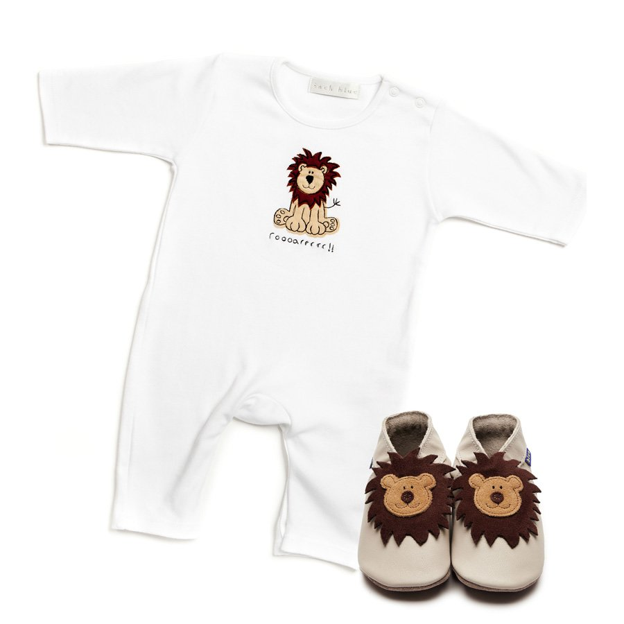Leo Babygrow & Shoes Giftset - Wild Atlantic Living
