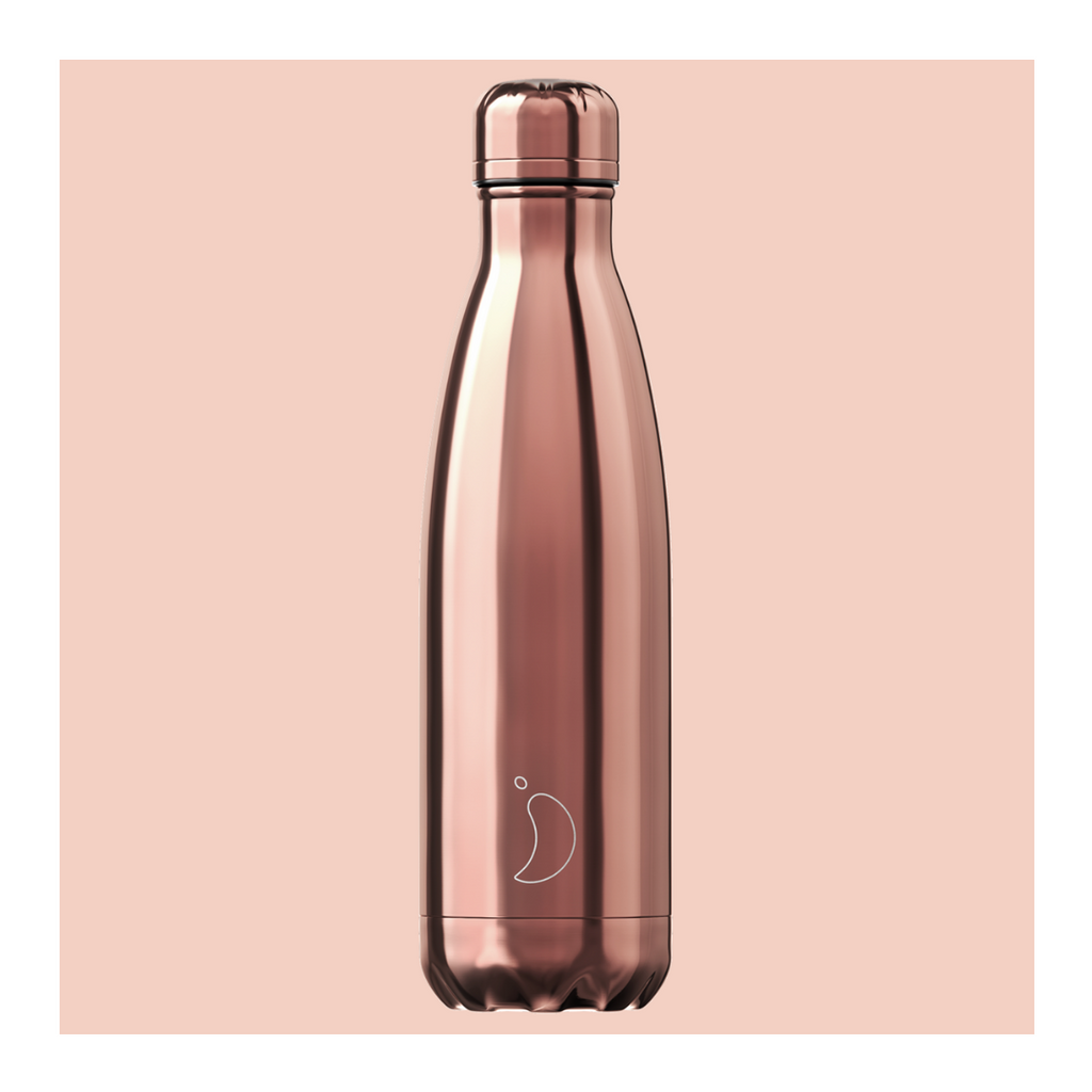 Chilly's 750ml Bottle - Rose Gold - Wild Atlantic Living