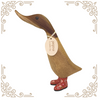 Ducky with Red Floral Welly Boots - Mabel - Medium - Wild Atlantic Living