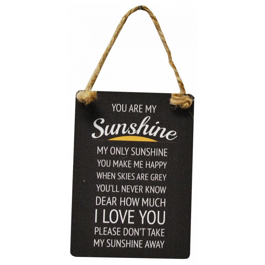 Mini Metal Sign - You Are My Sunshine - Wild Atlantic Living