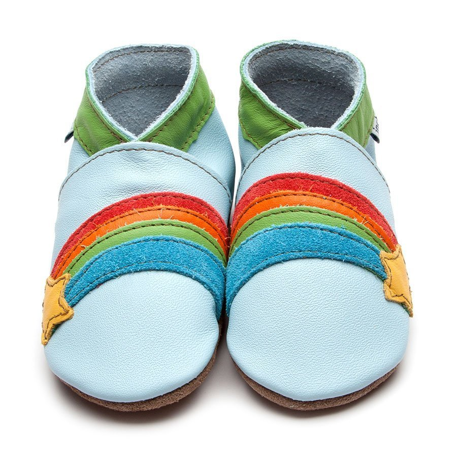 Rainbow Star Blue Shoes - Wild Atlantic Living