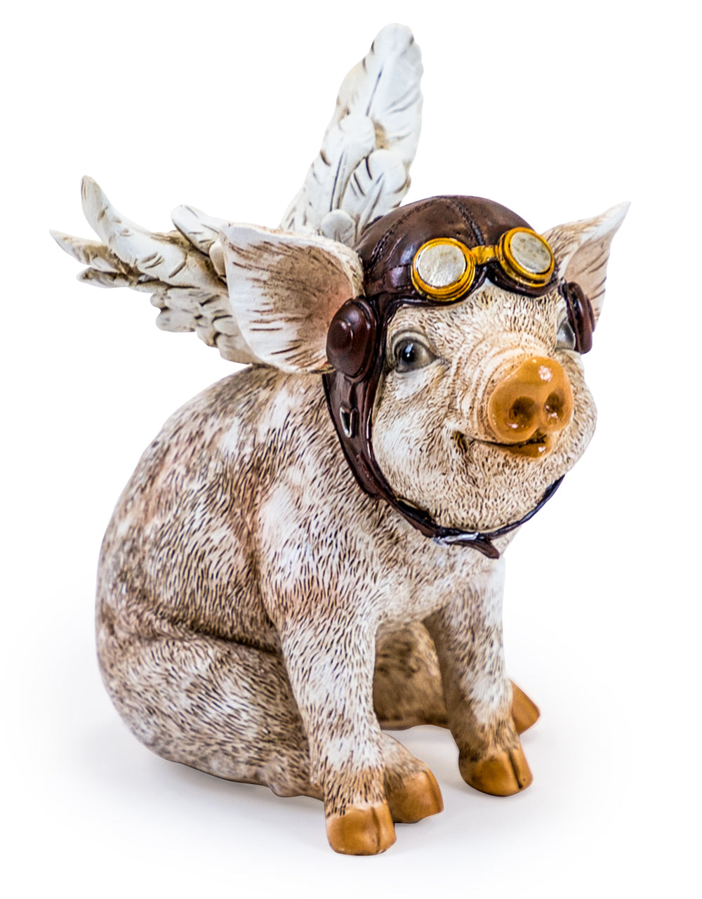 Sitting Piglet Pilot Figure - Wild Atlantic Living