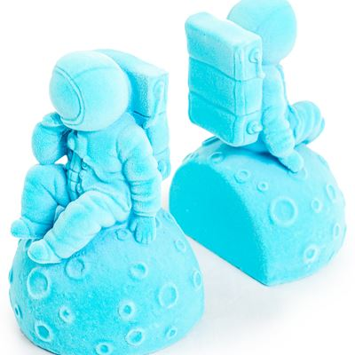 Light Blue Pair of Astronaut Bookends - Wild Atlantic Living