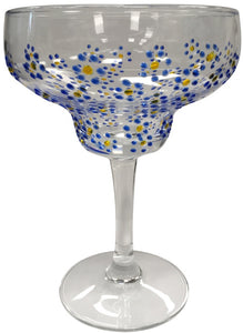 Blue Bell Margarita Glass, Sunny by Sue - Wild Atlantic Living