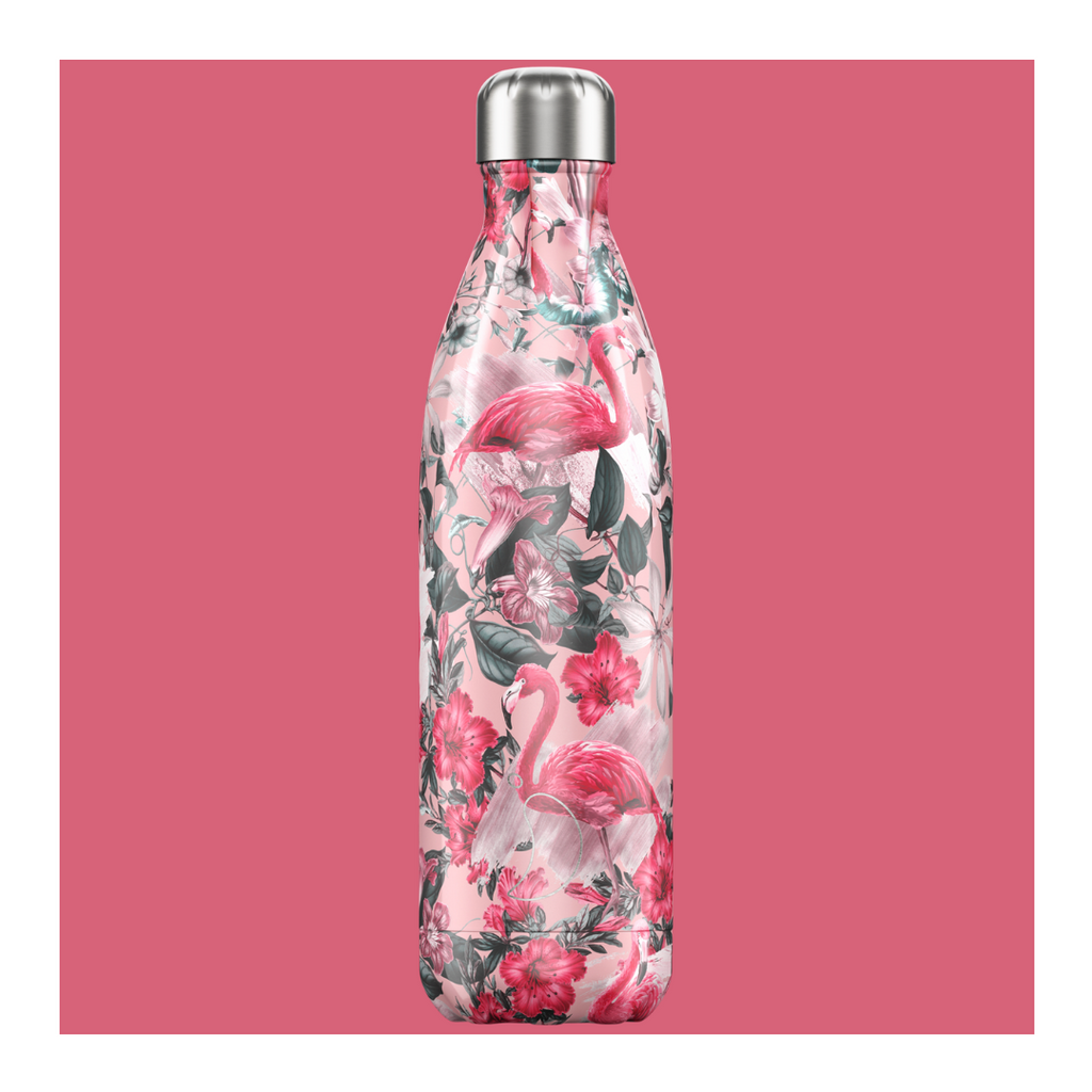 Chilly's 750ml Bottle - Tropical Flamingo - Wild Atlantic Living