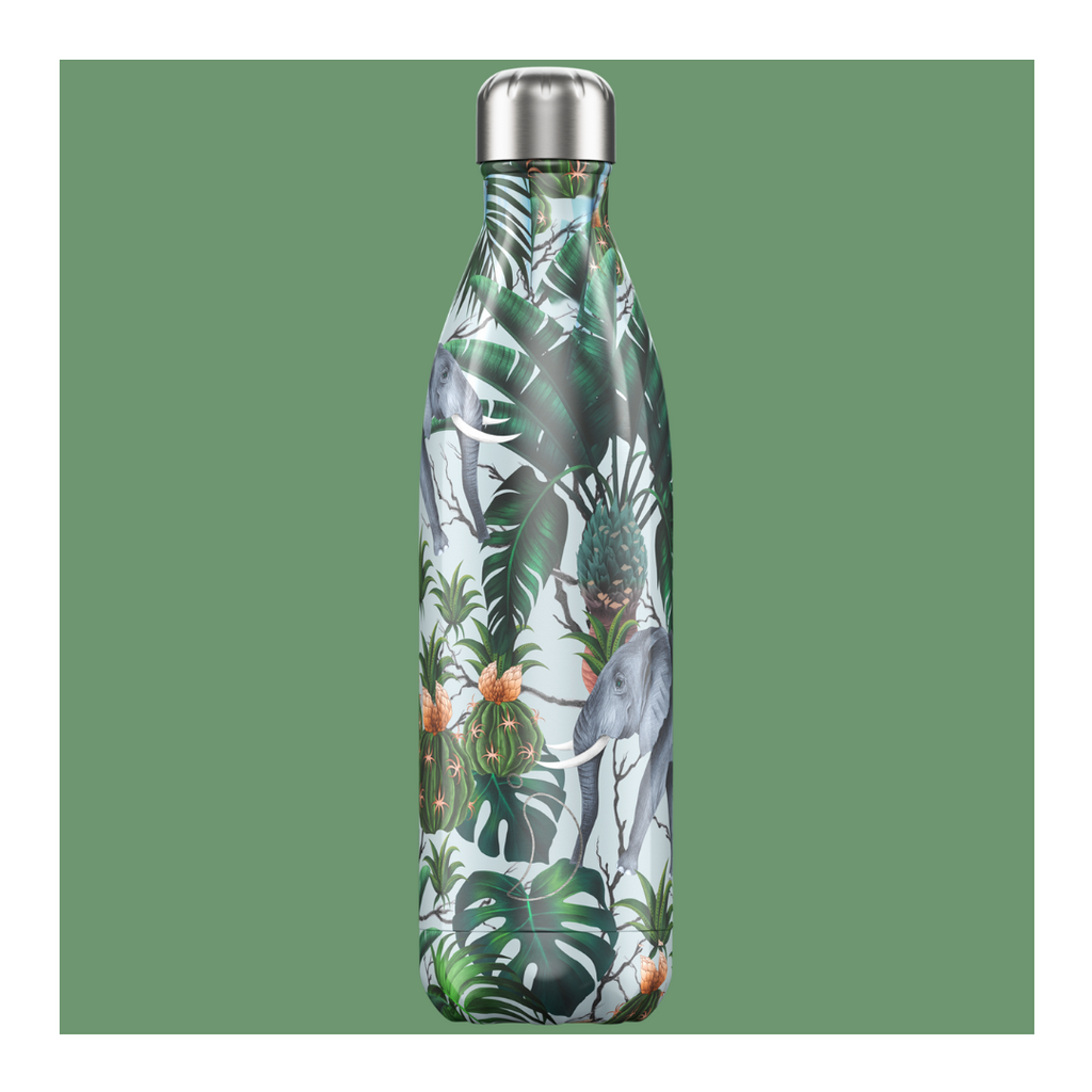 Chilly's 750ml Bottle - Tropical Elephant - Wild Atlantic Living