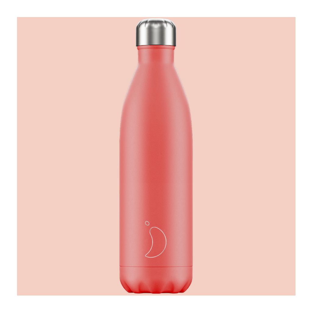 Chilly's 750ml Bottle - Pastel Coral - Wild Atlantic Living