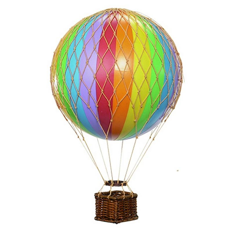 Medium Rainbow Hot Air Balloon - Wild Atlantic Living