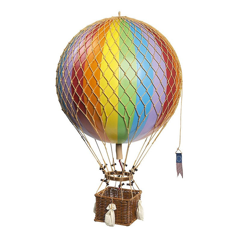 Large Rainbow Hot Air Balloon - Wild Atlantic Living