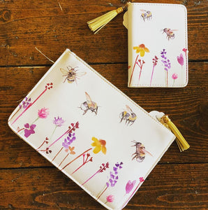Passport Cover - Busy Bee Garden - Wild Atlantic Living