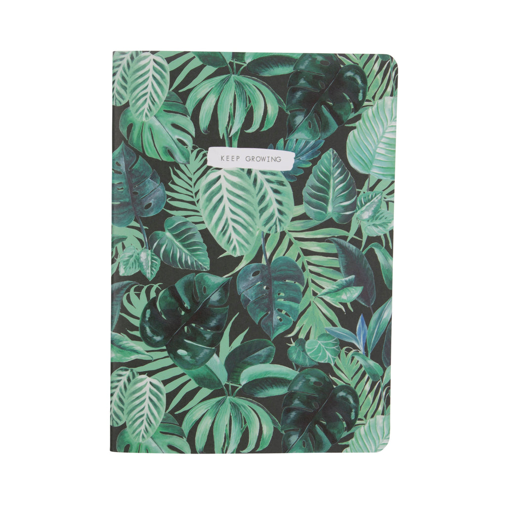 Botanical Jungle A5 Notebook - Wild Atlantic Living