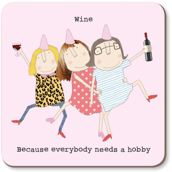 Wine Hobby Coaster - Wild Atlantic Living