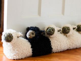 Draught Excluder - Black Sheep of the Family - Wild Atlantic Living