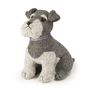 Sugar Bear the Schnauzer Doorstop - Wild Atlantic Living