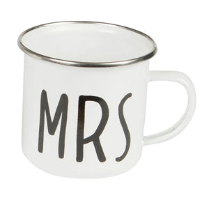 Mrs Enamel Mug - Wild Atlantic Living