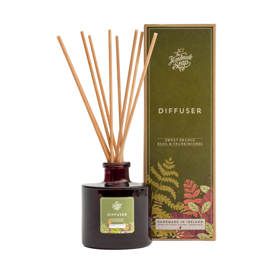 Fragrance Diffuser - Sweet Orange & Basil