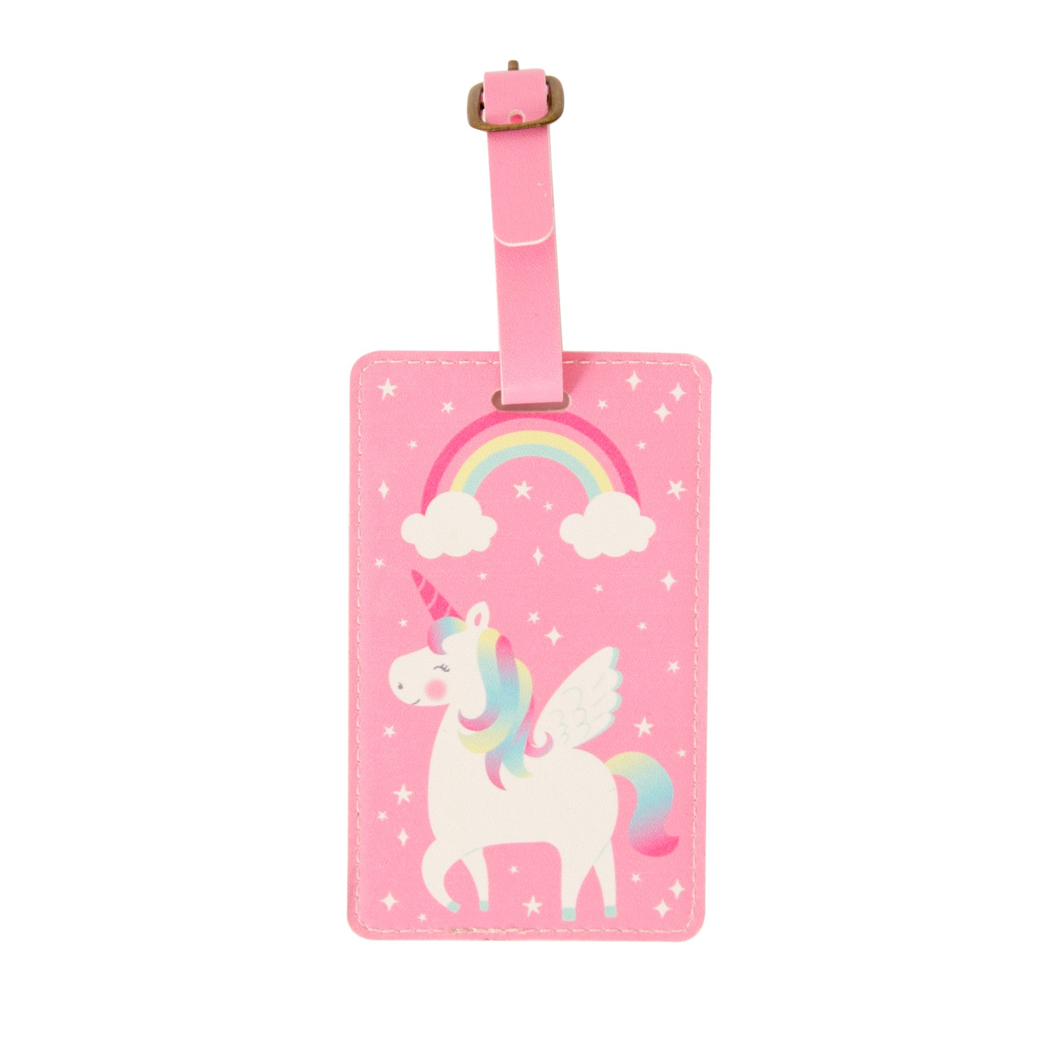 Rainbow Unicorn Luggage Tag - Wild Atlantic Living