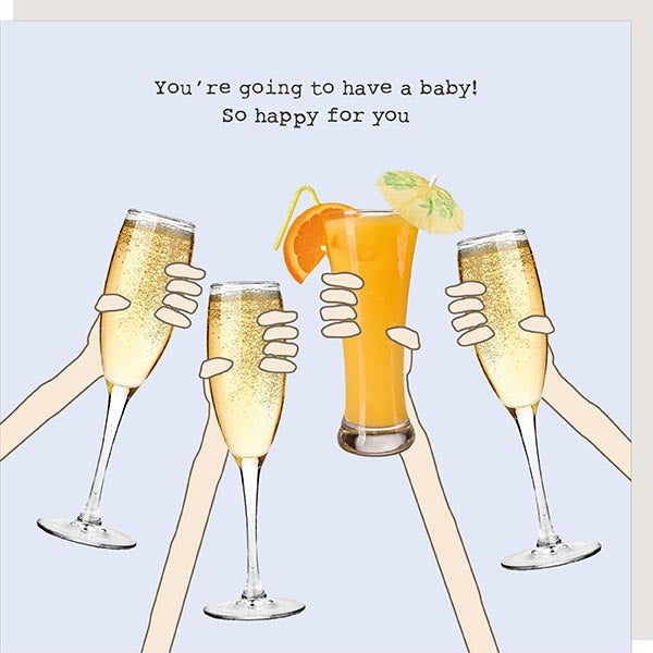 Card - Pregnant Cheers - Wild Atlantic Living