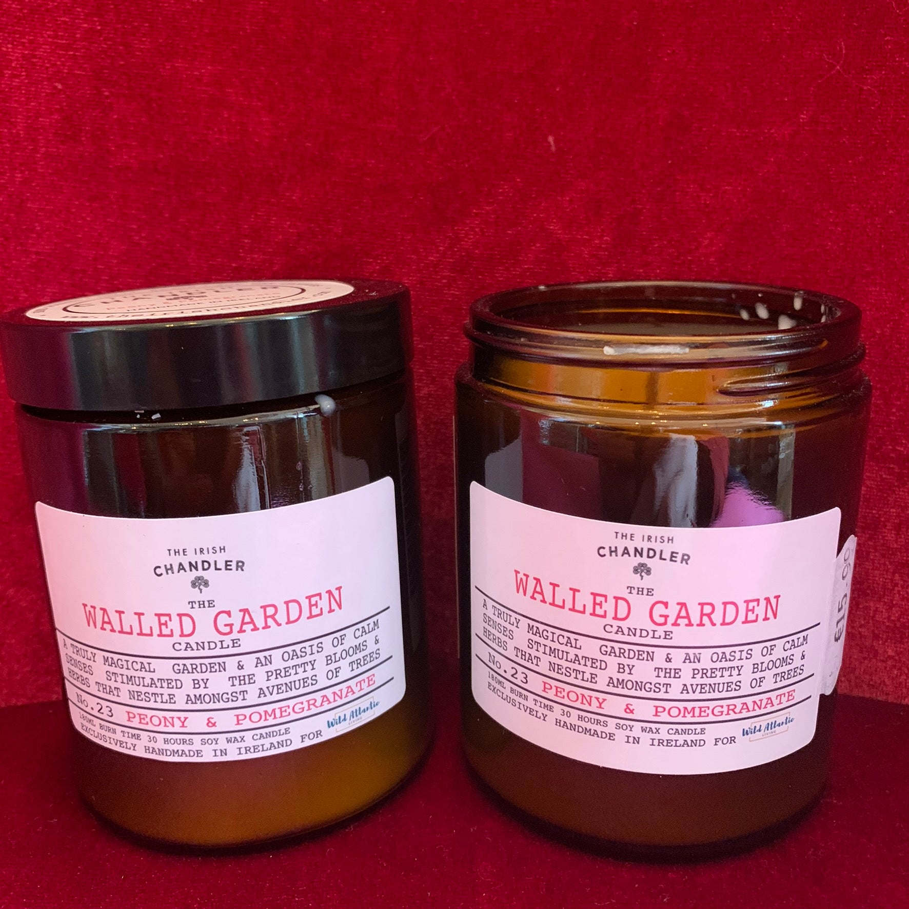 EXCLUSIVE The Walled Garden Candle - Wild Atlantic Living