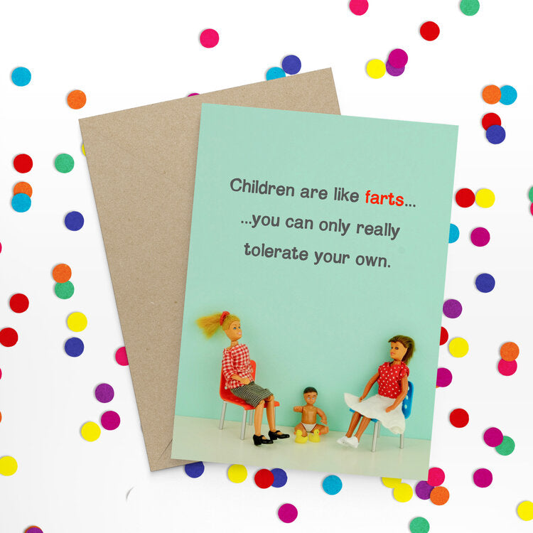 Fart Children Card