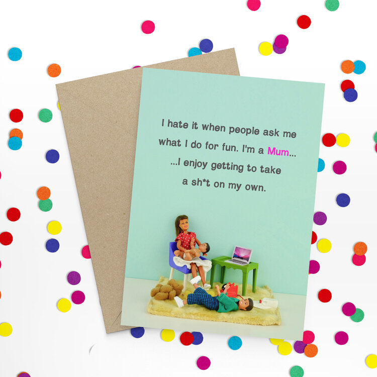 Mum Fun Card