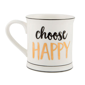 Choose Happy Mug - Wild Atlantic Living