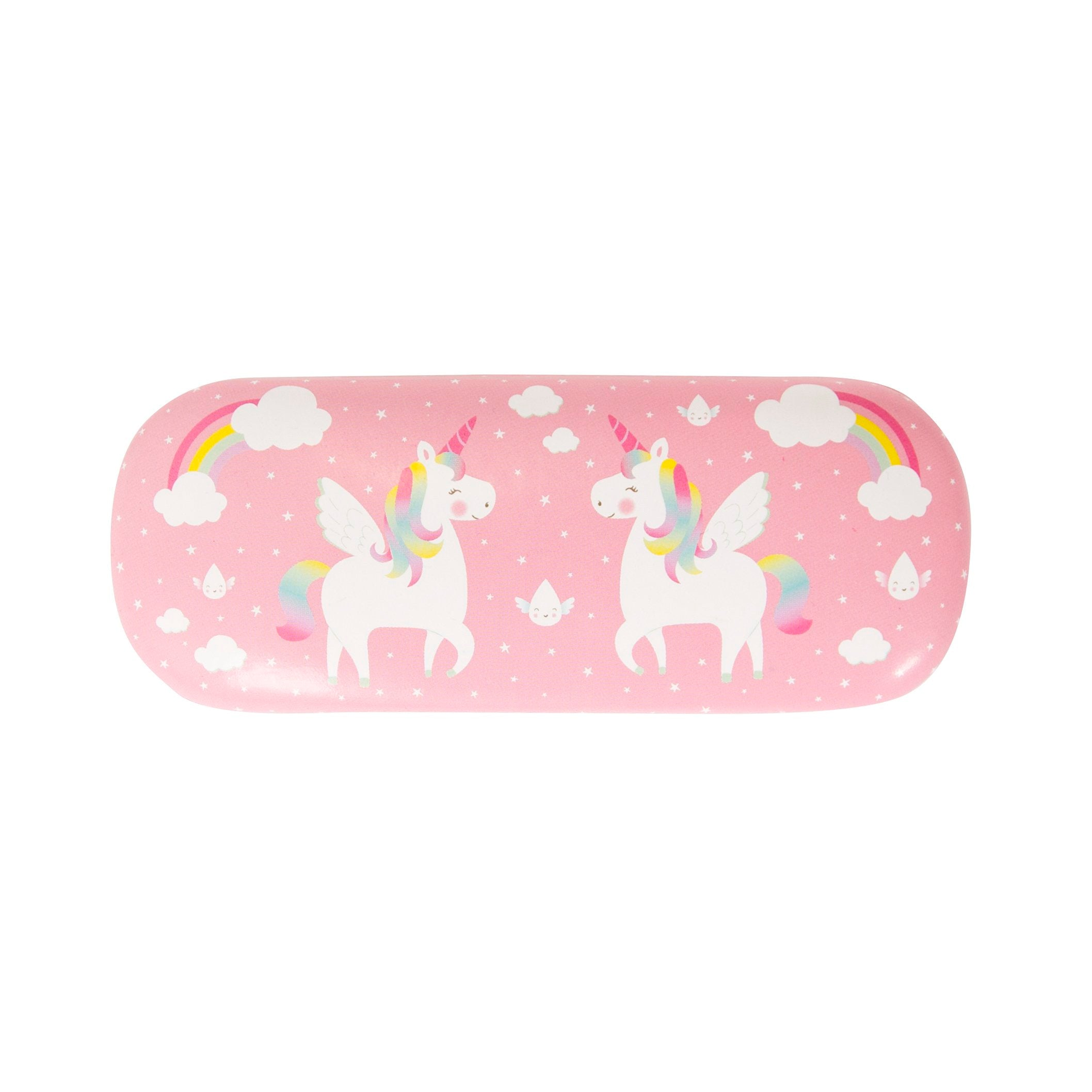 Rainbow unicorn seeing is believing Glasses Case - Wild Atlantic Living